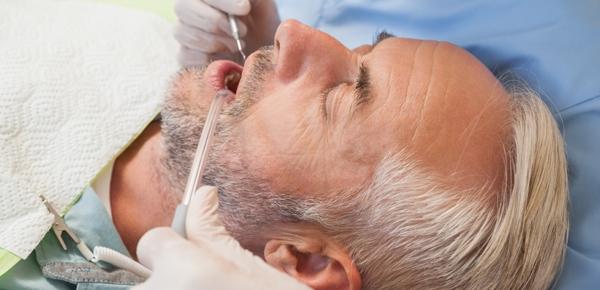 dental sedation patient in Calgary